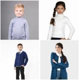 Детские свитера и жакеты